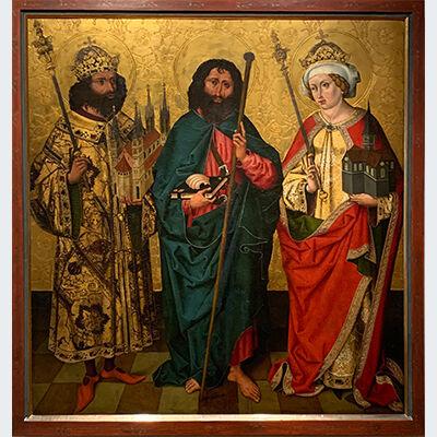 Podcast_7_Heiliger Kaiser Heinrich mit Kunigunde und dem heiligen Jacobus d.Ä. Foto Philip Kober, Foto: Philip Kober
