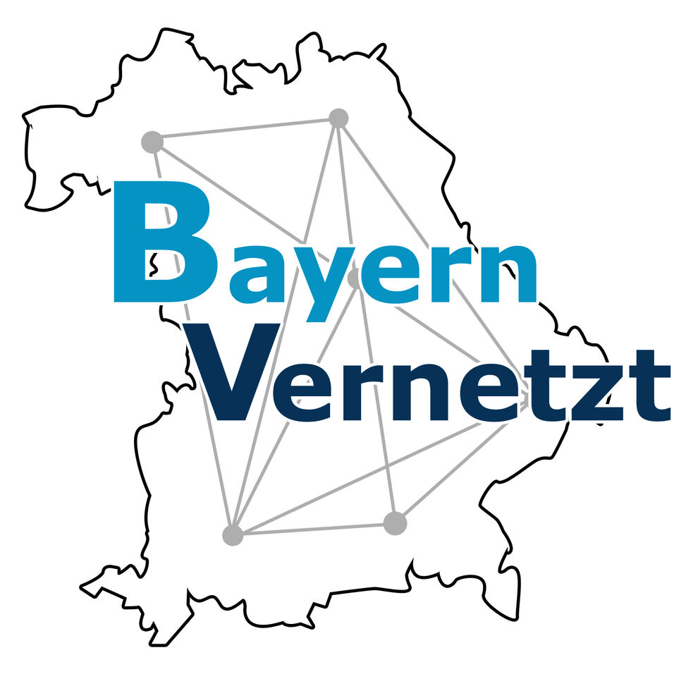 Logo Bayern vernetzt,